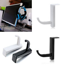 Headphone Headset Earphone Holder Rack Wall PC Monitor Hanger Stand Hook B&H