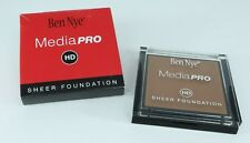 Ben Nye HD Media Pro Sheer Foundation Rio Tan .63 oz New in Box