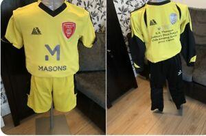 Boys Football Goal Kit.
