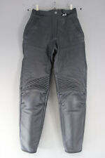 DAINESE/JES LEATHER BIKER TROUSERS + CE KNEE/SHIN ARMOUR WAIST 26/INSIDE LEG 29""