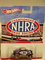 2011 HOT WHEELS RACING CHAMPIONSHIP NHRA DRAG RACING PASS 'N GASSER NICE CARD