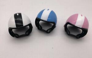 3ps 1/6 scale miniature helmets for fashion royalty poppy parker agnes jem doll