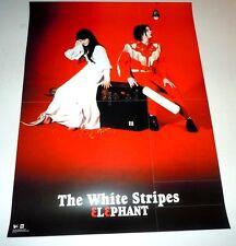 The White Stripes~Elephant~Orig Promo Poster~2003~Jack White~Double Sided~18x24