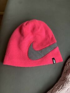 Nike Bike HatLined  Running Hat Beanie. One Size Pink