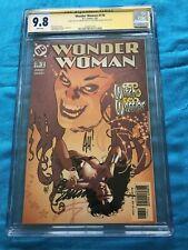 Wonder Woman #176 - DC - CGC SS 9.8 - Signed by Phil Jimenez, Adam Hughes