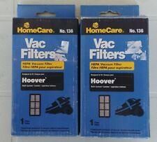 2 x Sears Homecare Hoover Multi-Cyclonic HEPA Vacuum  Filter Part # 136 NEW