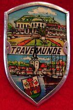 Travemunde Travemünde used badge mount stocknagel hiking medallion G4931