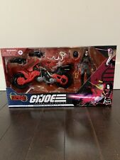 GI JOE CLASSIFIED BARONESS WITH BIKE COBRA ISLAND TARGET EXCLUSIVE NEW IN BOX