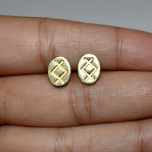 gold earrings brass exaggerated india jeweller Tinny BR-214