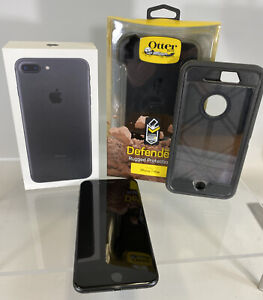 iPhone 7 + Plus 32 GB Excellent Condition Otter Box Clip Box Works Great Verizon