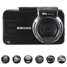 SNOOPER DVR-4 HD GPS HD LCD Witness Dash Cam Camera & Mobile Speed Trap Detector