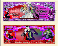 OUR HARLEY QUINN AND THE JOKER GET MARRIED DOLLAR BILL