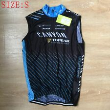 Men Cycling Vest Layer Sleeveless Bike Jersey Shirts Racing Clothes Tops Size S