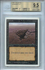 MTG Unlimited Sinkhole BGS 9.5 Gem Mint Magic The Gathering WOTC 8248