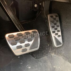 For 2018-2021 Jeep Wrangler Gladiator AT Brake Gas Foot Accelerator Pedal Covers
