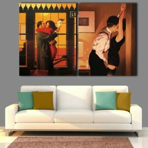 Jack Vettriano Portrait Oil Painting Printed Canvas Poster And Print Wall