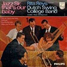 "RITA REYS - Yes Sir, That's Our Baby -1 (1963 DUTCH JAZZ VINYL EP 7"")"