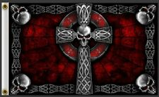 BIKER FLAG CELTIC CROSS    3 X 5 FLAG