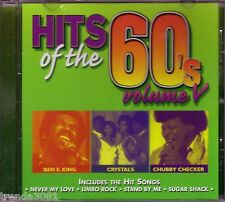 Hits of 60s Volume 5CD Classic Greatest Sixties RockCRYSTALS CHUBBY CHECKER