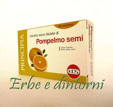 SEMI DI POMPELMO 60 compresse - Antiossidante, antibiotico naturale, candida