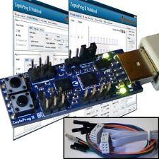 AVRISP mkII compat AVR programmer USB serial logic analyzer ISP PDI TPI XMEGA