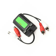 Car RCA  Amplifier Audio Noise Filter Boden Loop Isolator Unterdrücker 3.5mm B2S