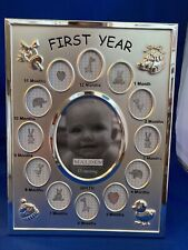 Baby's First Year Collage - Picture Frame - Malden International Designs