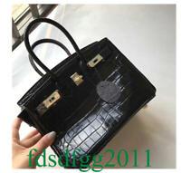 Alligator Tote Togo Genuine Leather Stachel Clutch Women Shoulder Bag Handbag