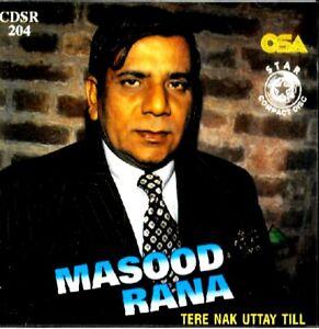 MASOOD RANA - TERE NAK UTTAY TILL - BRAND NEW CD - FREE UK POST