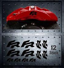 12 x FR Seat Bremssattel Aufkleber Sticker Hitzebeständige Leon Ibiza FR-12pS