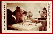 SPACE 1999 - ALPHA CREW DESTROYING LAB - EX SUNICRUST Card #28 Australia 1975