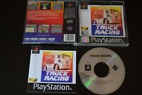 Truck Racing Game PlayStation One PS1 Condition Manual Incl UK PAL