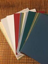 Acid Free Uncut 5 X 7 Mat Boards  12 Piece Assortment