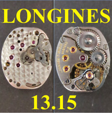 longines 13.15 cal movimento movement manual old wrist watch for parts vintage