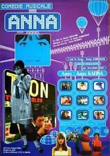 ANNA Japanese B2 movie poster SERGE GAINSBOURG ANNA KARINA Vintage 1998