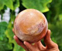 "Large 4/"" Black Obsidian Crystal Stone Healing Energy Herb Crushing Bowl /& Pestle"
