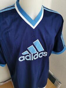 maillot de football marque adidas L foot rétro vintage