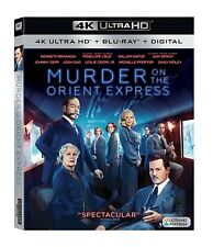 Murder on the Orient Express UHD 4K (Blu-ray/DVD, 2018, 2-Disc Set)