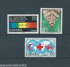 ESPAGNE - 1969 YT 1581 à 1583 - TIMBRES SELLOS NEUFS** LUXE