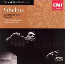 Sibelius: Symphonies Nos. 4 & 7 / Finlandia