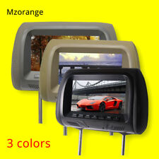 7 in TFT LED Screen Pillow Monitor General Car Headrest AV USB SD MP5 FM Speaker