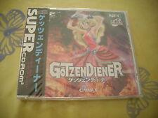 GOTZENDIENER ACTION PC ENGINE SUPER CD JAPAN IMPORT NEW FACTORY SEALED!