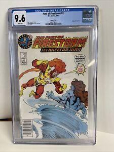 Fury of Firestorm 61 CGC 9.6 Test Superman Logo
