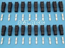 20X 30Amp Connector Anderson Style Plug 12v 24v Fridge Charger Battery Black