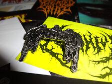 Mortician Pin Badge Death Metal Waco Jesus Lividity