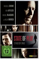 STATE OF PLAY-STAND DER DINGE - CROWE,RUSSELL/AFFLECK,BEN   DVD NEUF