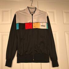 f11ef3a62e6c VTG RETRO 80s McGregor Mens Medium Color Block Track Jacket Coat M Zip Long
