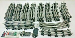 47pc LIONEL 054 CURVE TRACK LOT   LIONEL 6-65554 054 CURVE TRACK LOT  TUBE TRACK