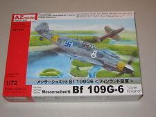 """1/72 Scale AZ Models Messerschmitt Bf 109G-6 """"Over Finland"""""""