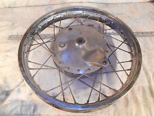 1974 74 YAMAHA RD350 REAR WHEEL + BRAKE PLATE   RD 350